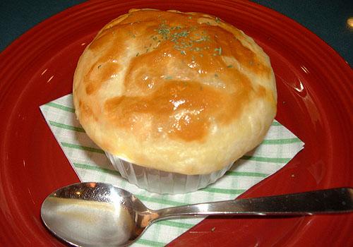 パイのつぼ焼き キノコクリーム